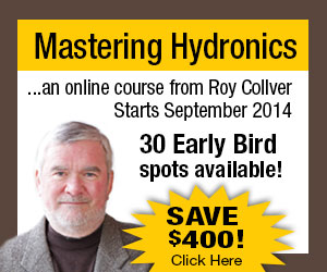 Roy Collver - Mastering Hydronics