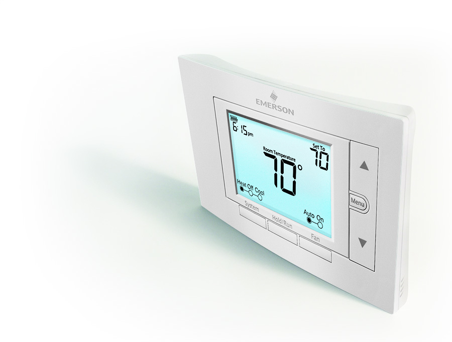 Streamlined thermostat offering for Emerson sensi