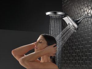 Delta Faucet will launch its two-in-one HydroRain shower head this fall.
