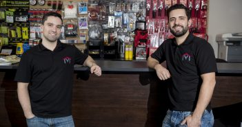After working in the HVAC/R trade since graduating from high school, Andrew, left, and Mark Botelho are now in the wholesale supply business.
