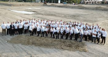 Master celebrated the event with a ground-breaking ceremony with employees and senior management in attendance.