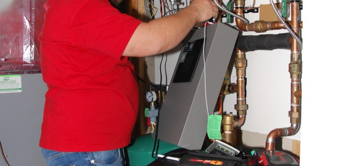 Residential air-to-water heat pumps