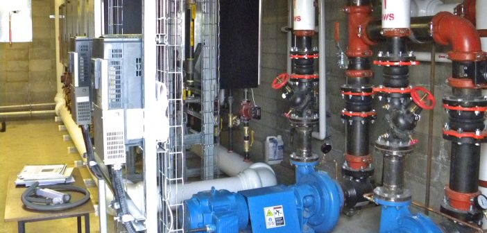 Decentralizing large hydronic systems